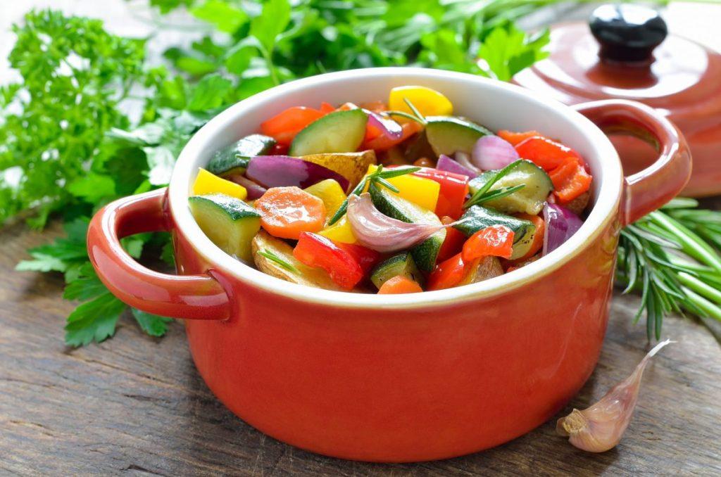 goulash roasted fresh vegetables