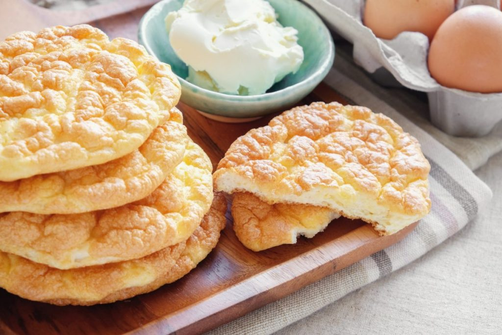 Cloud Bread Sandwich