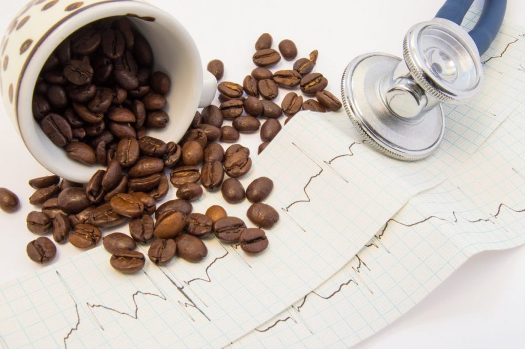 sinus trachycardia caffeine increase heartbeat