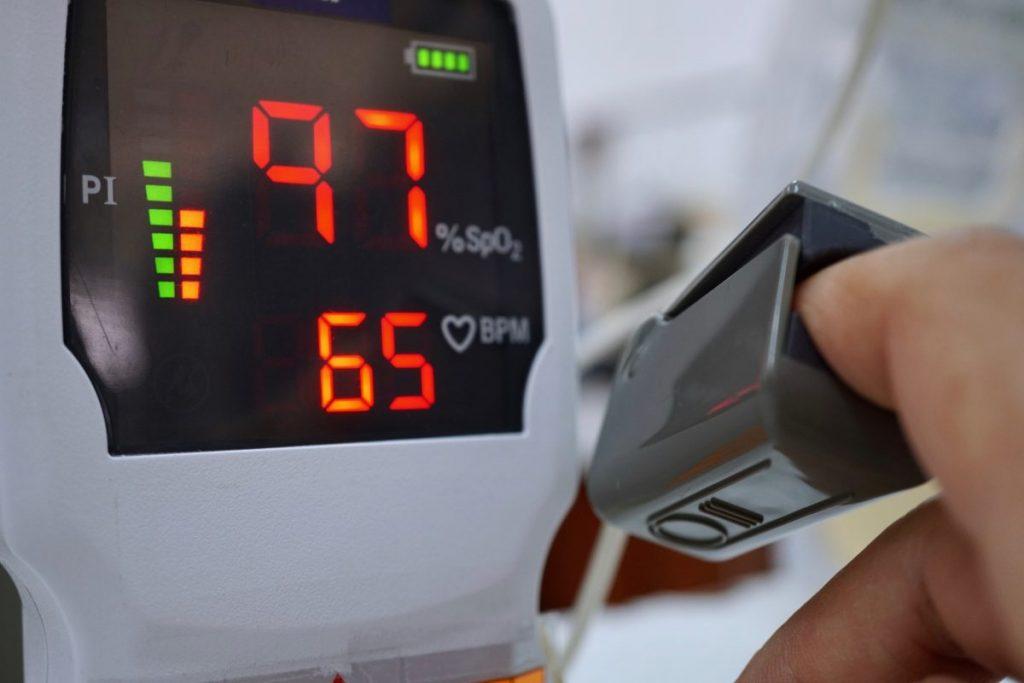 Pulse Oximeter Oxygen