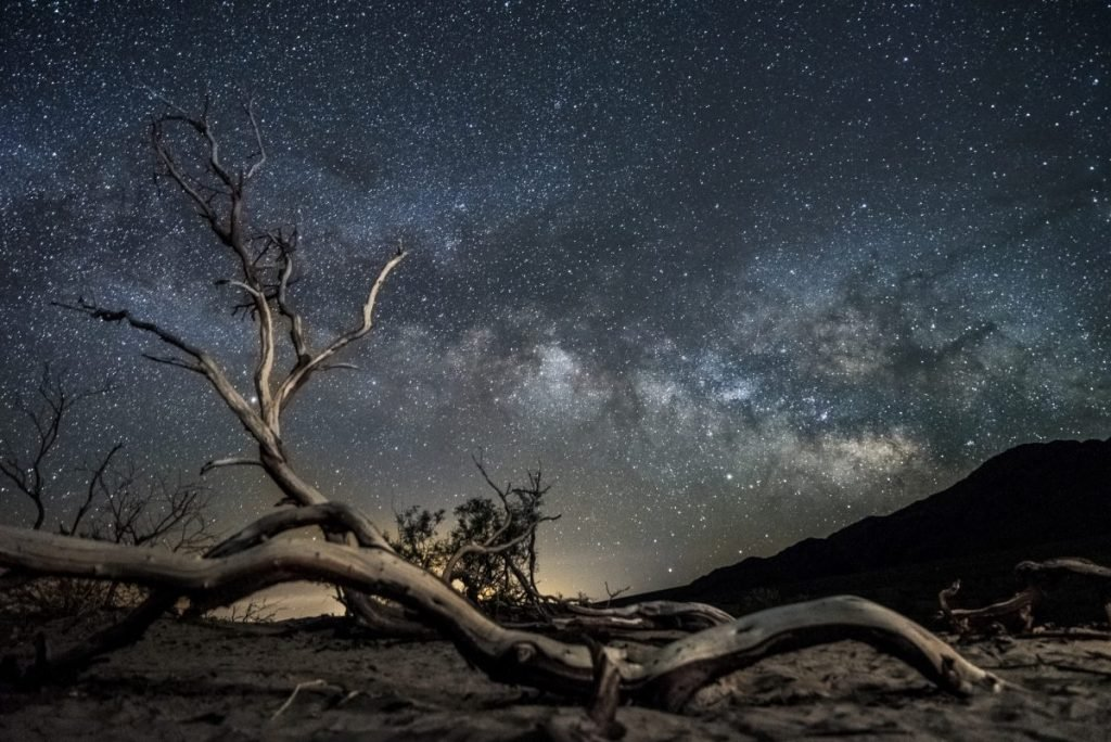 Milky Way from death valley