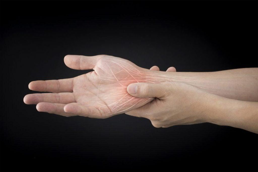 nerves arm hand