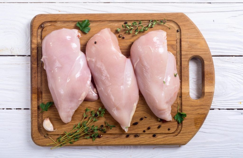 raw chicken breast slow cooker
