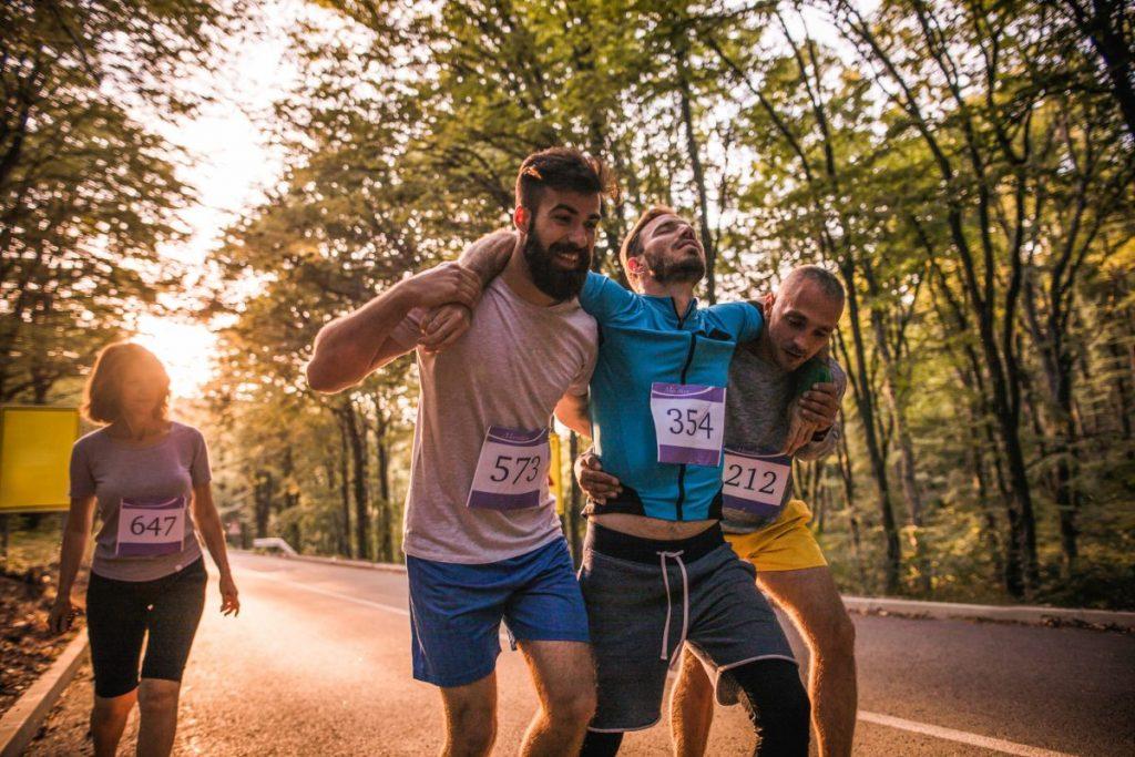 hematochezia runner intense