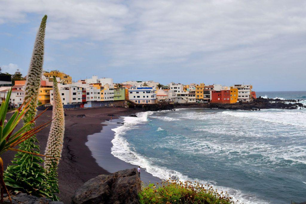 Playa Jardín. Tenerife, Canary Islands