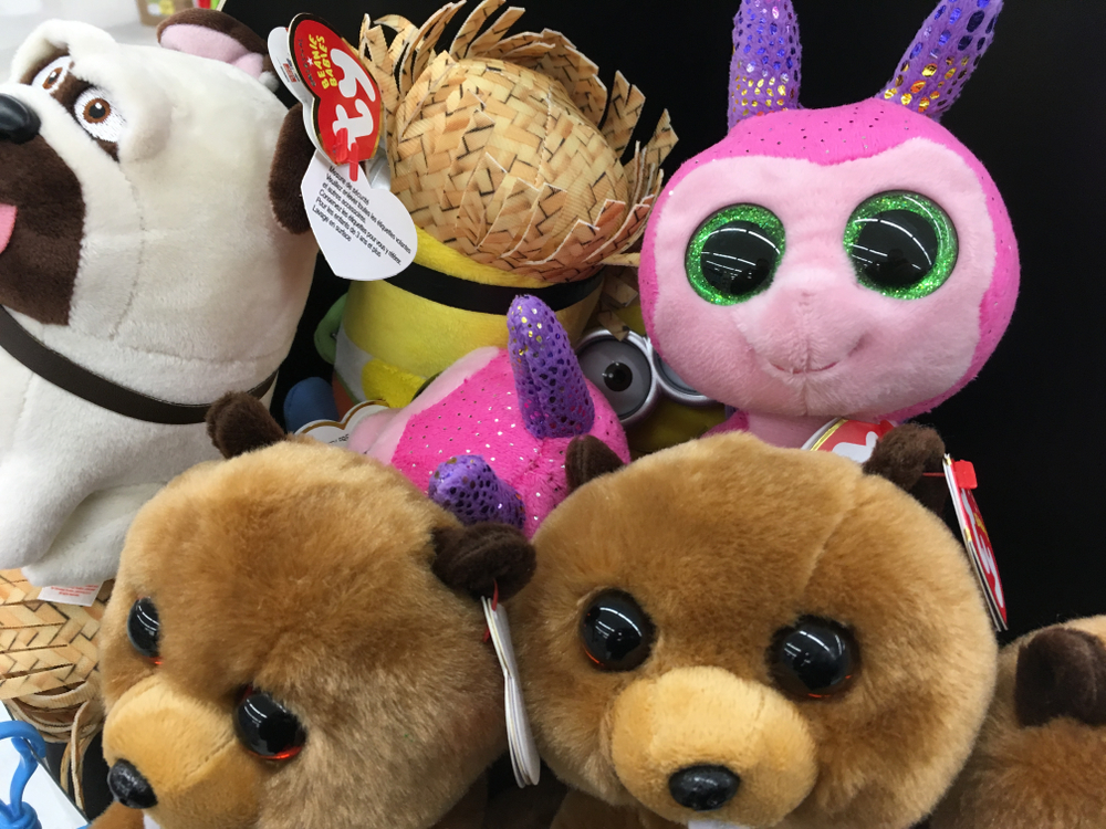 ty beanie babies at Harmon's Grocery Store