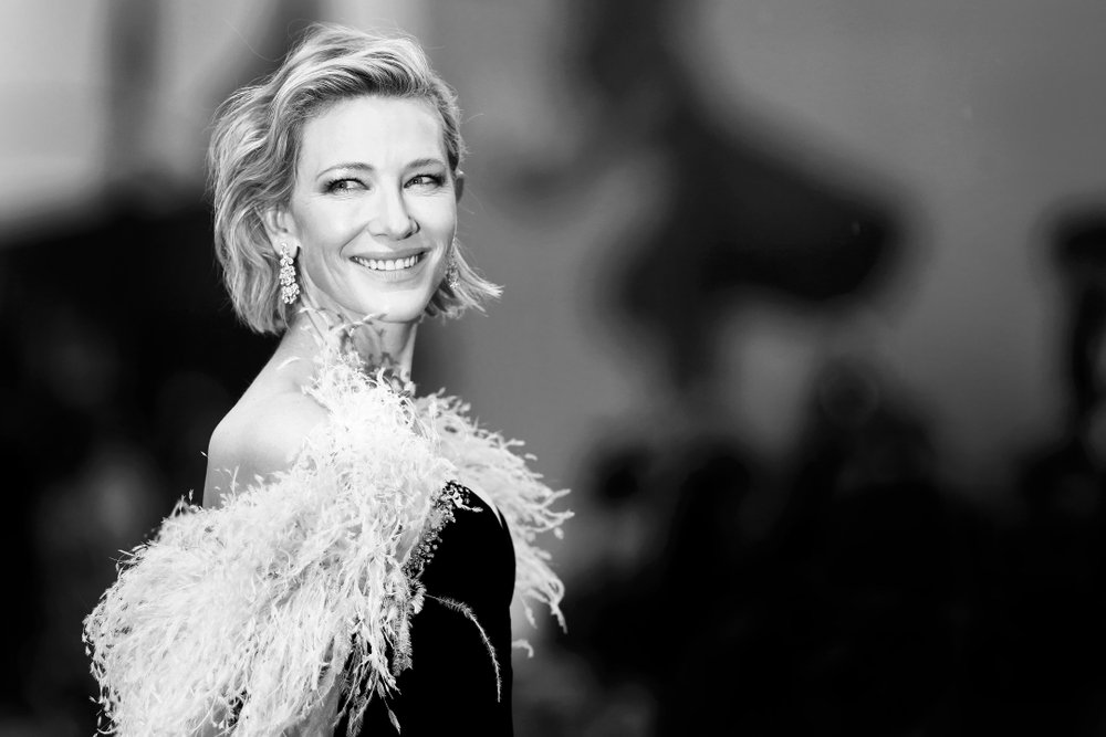 Cate Blanchett attends the premiere of the movie 'A Star Is Born' during the 75th Venice Film Festival on August 31, 2018 in Venice, Italy.