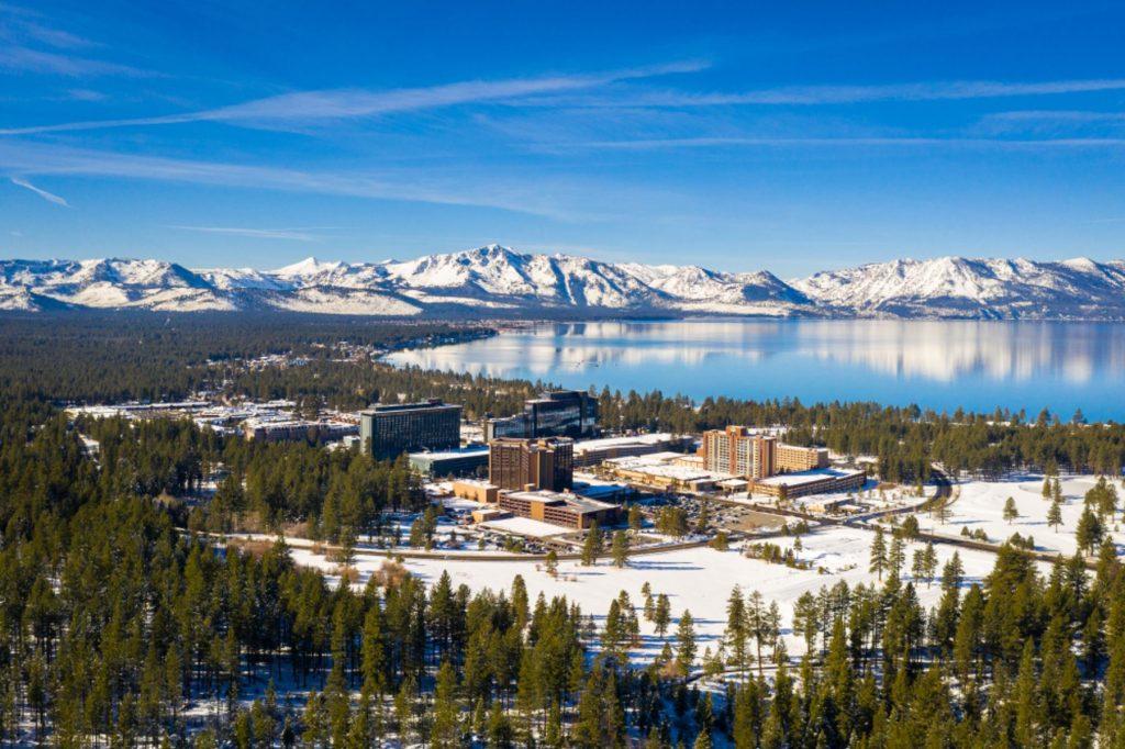 South Lake Tahoe Strip / Casinos in Winter