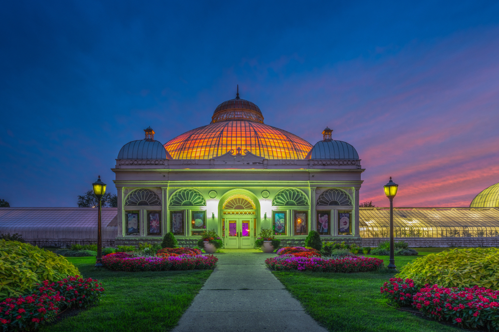 The Buffalo and Erie County Botanical Gardens are botanical gardens located within South Park in Buffalo, New York