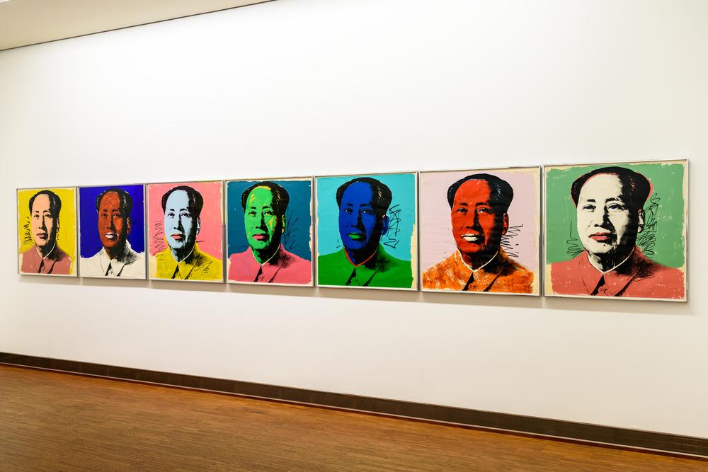 Andy Warhol Mao Tse-Tung Paintings