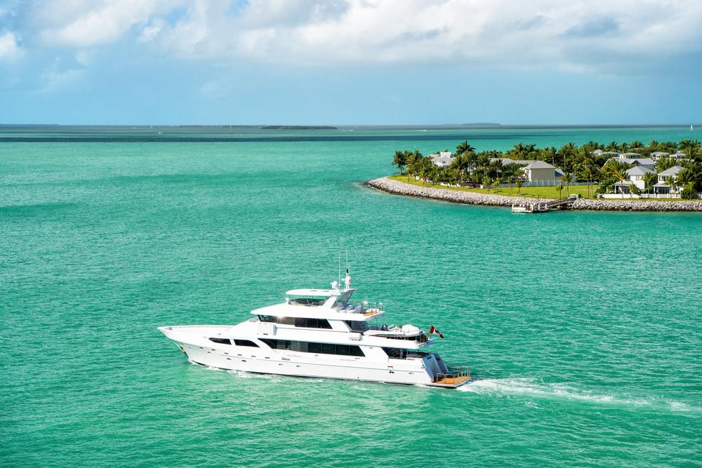 key west yacht tour