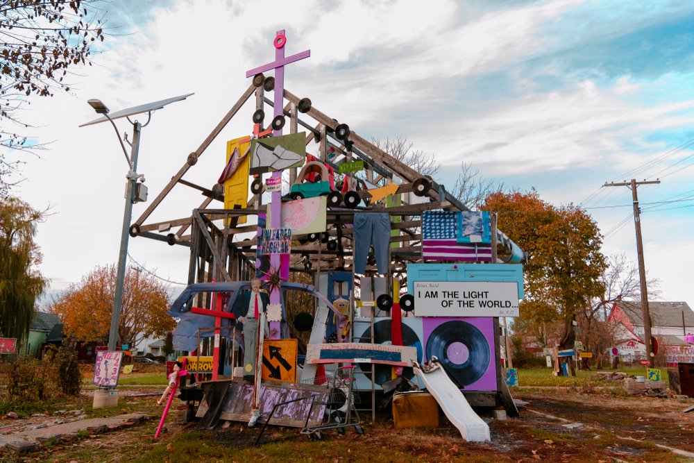 Heidelberg project, an outdoor museum created to make the city's first indoor and outdoor museum as an attraction
