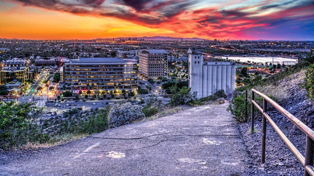 Sunset at the Mill, Tempe/Phoenix, Arizona
