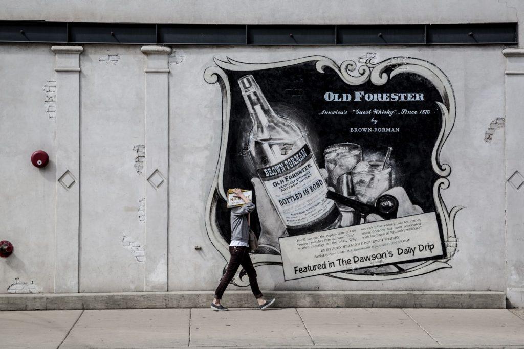 kentucky burbon poster
