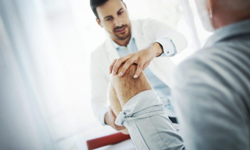 vascular supply doctor knee