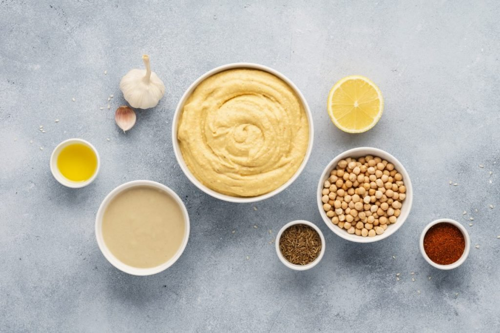ingredients in hummus