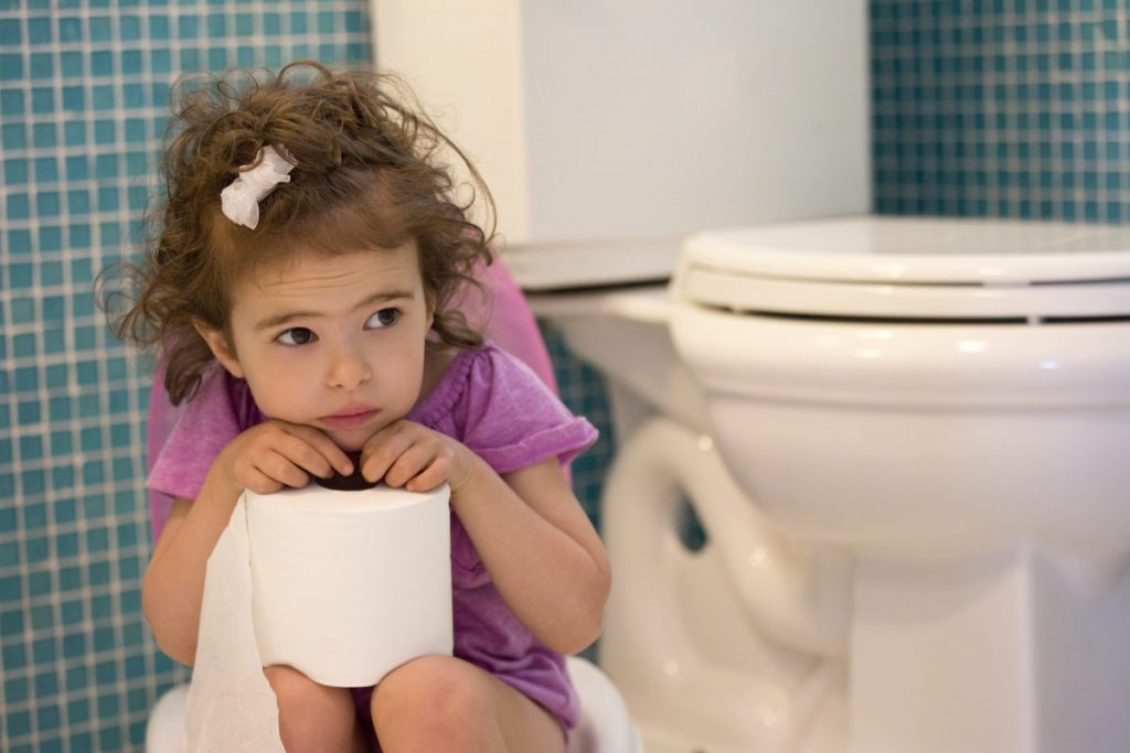 difficult toilet training chronic constipation