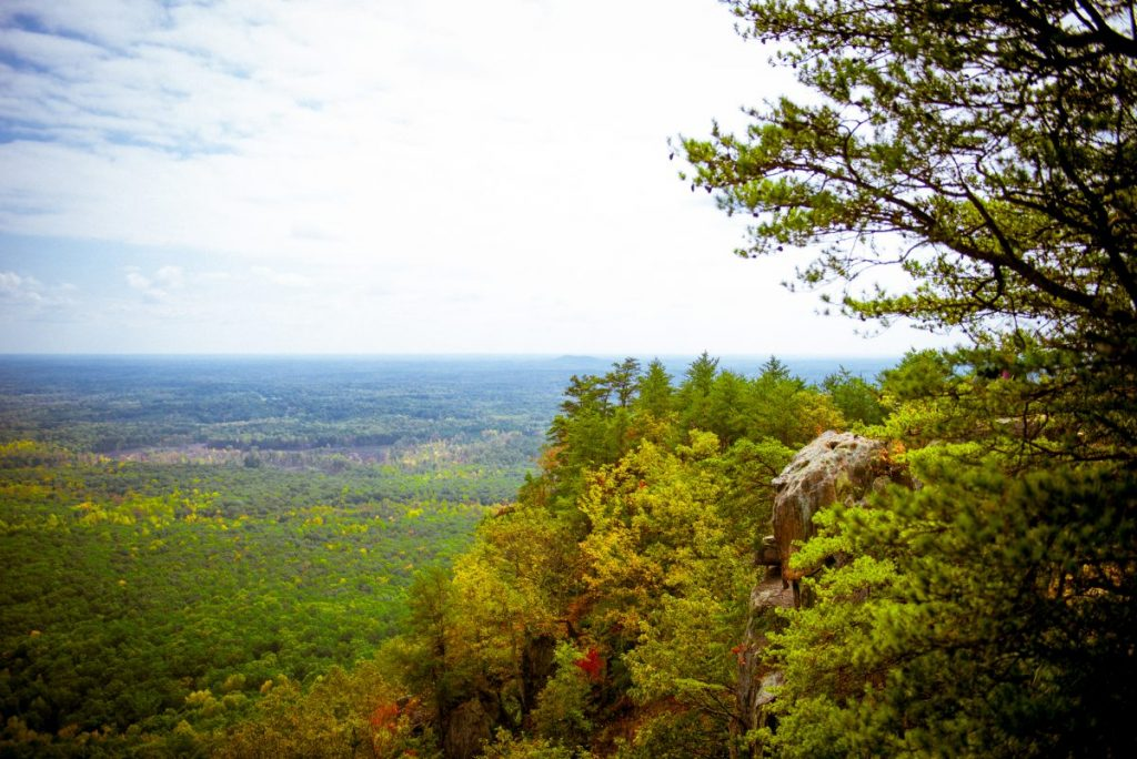 View from Crowders Mountain summit