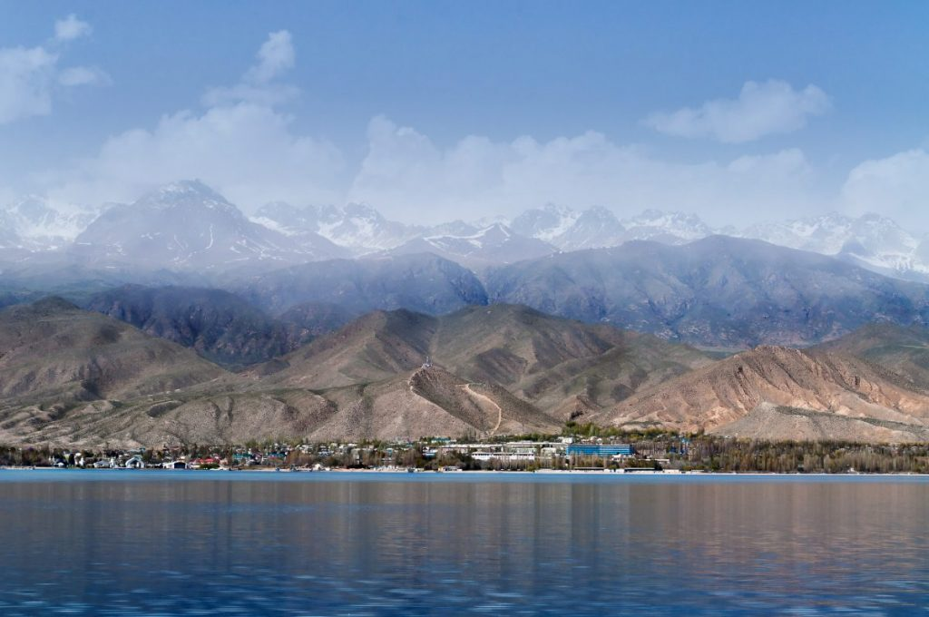 Issyk Kul Kyrgyzstan lake depth mountain
