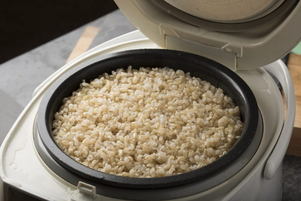 brown rice cooker