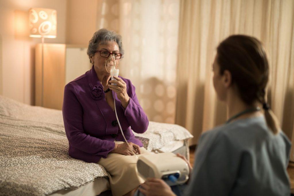 breathing treatment ventilation oxygen
