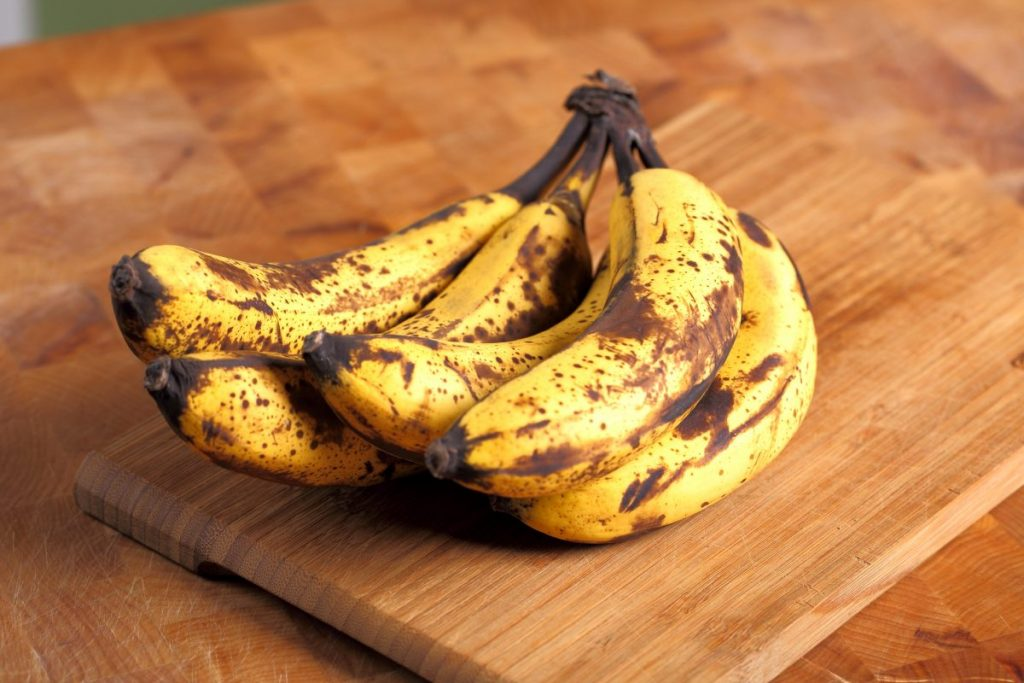 Picking Bananas for Banana Bread