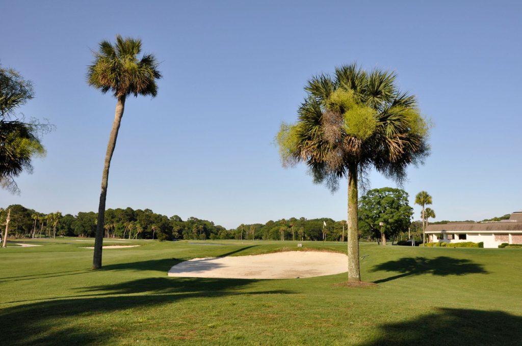 golf course on Hilton Head Island in South Carolina.