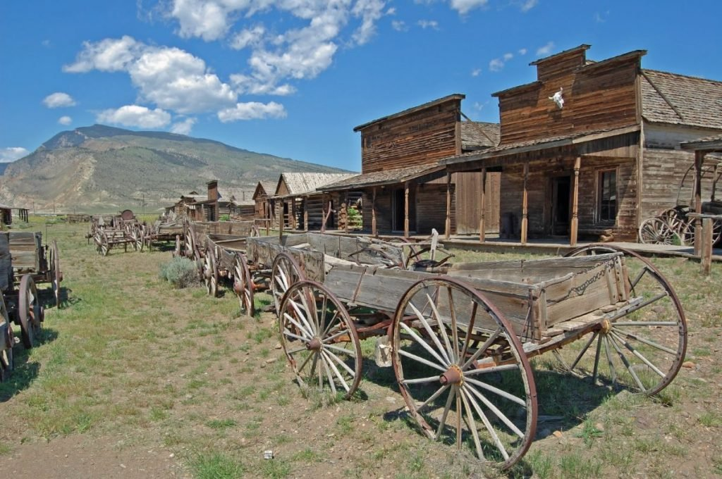 Ghost Town in Cody, Wyoming