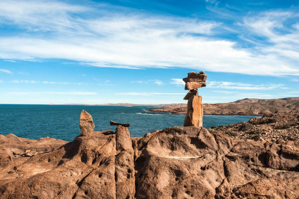 Punta Camarones, Chubut, Patagonia, Argentina