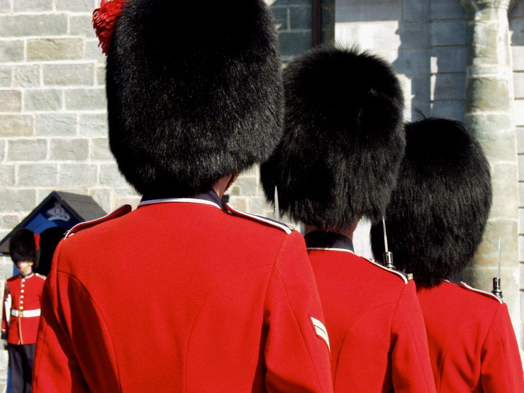 Four Guardsmen - Citadelle of Quebec