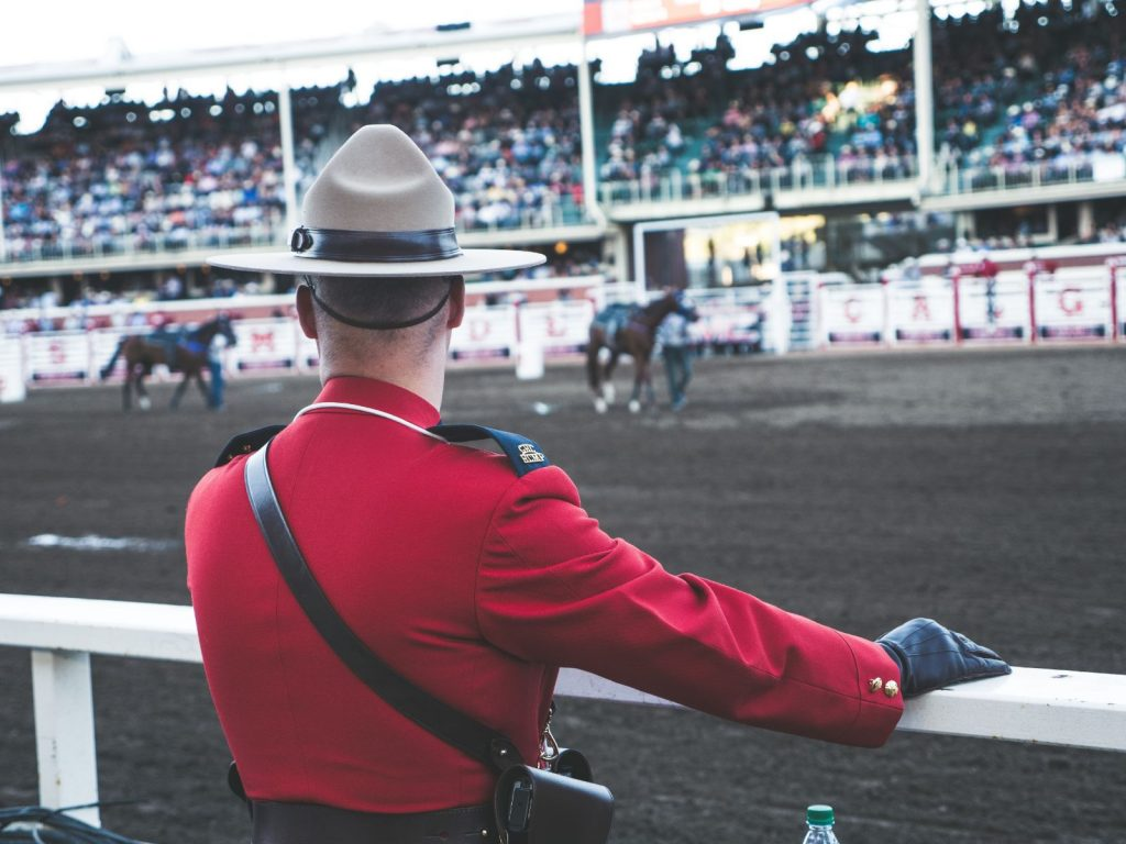 Canadian Mountie, Calgary Stampede