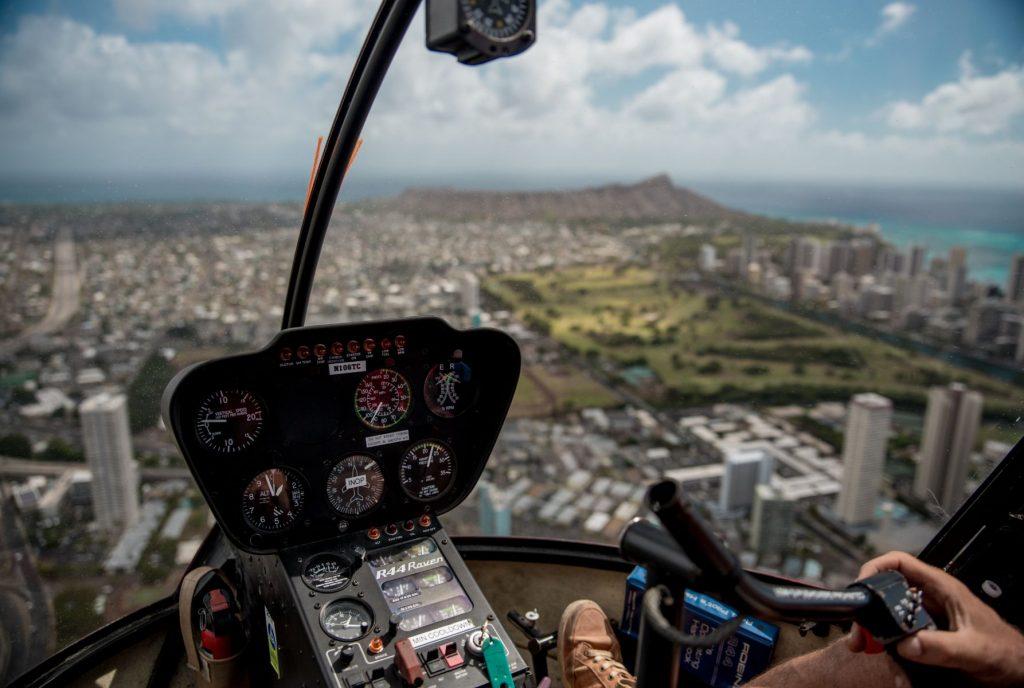 helicopter Honolulu