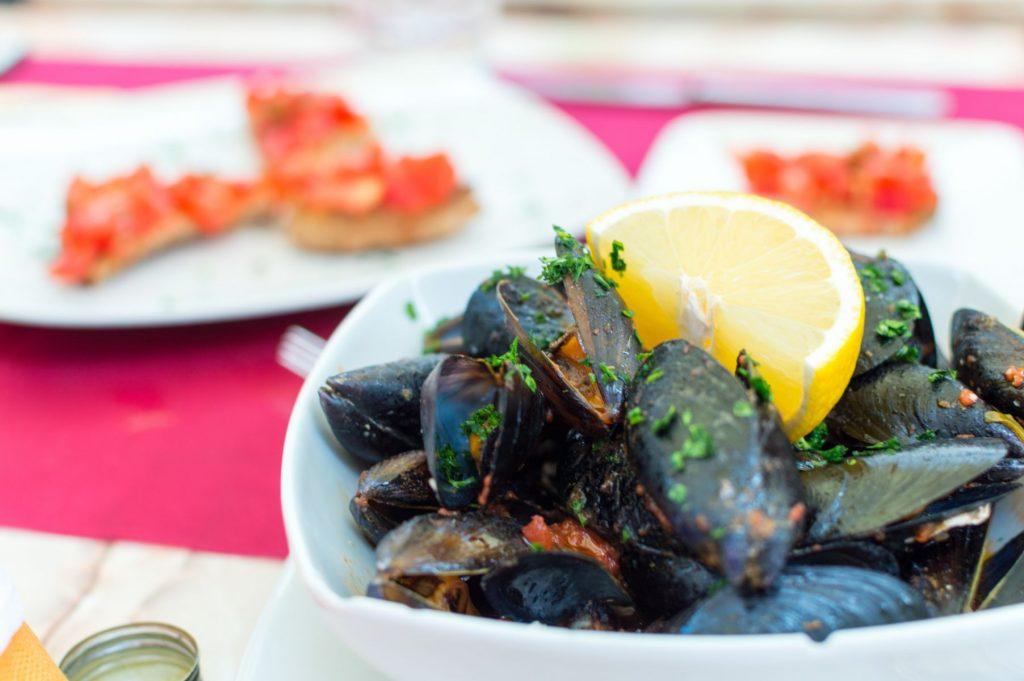 Mussel Dinner in Venice