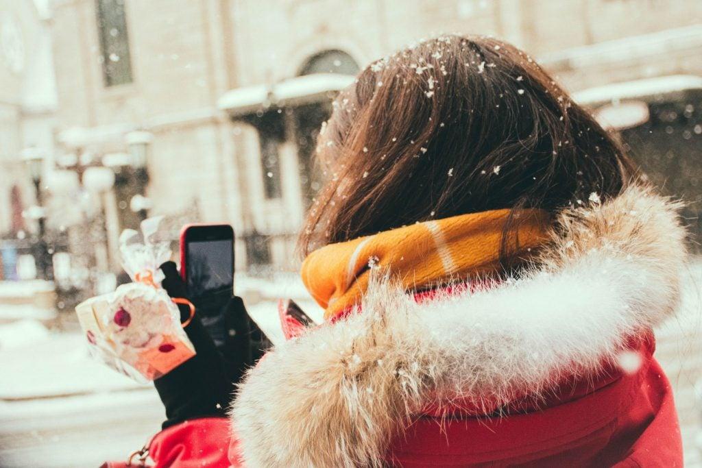 Quebec City, Canada winter in quebec.