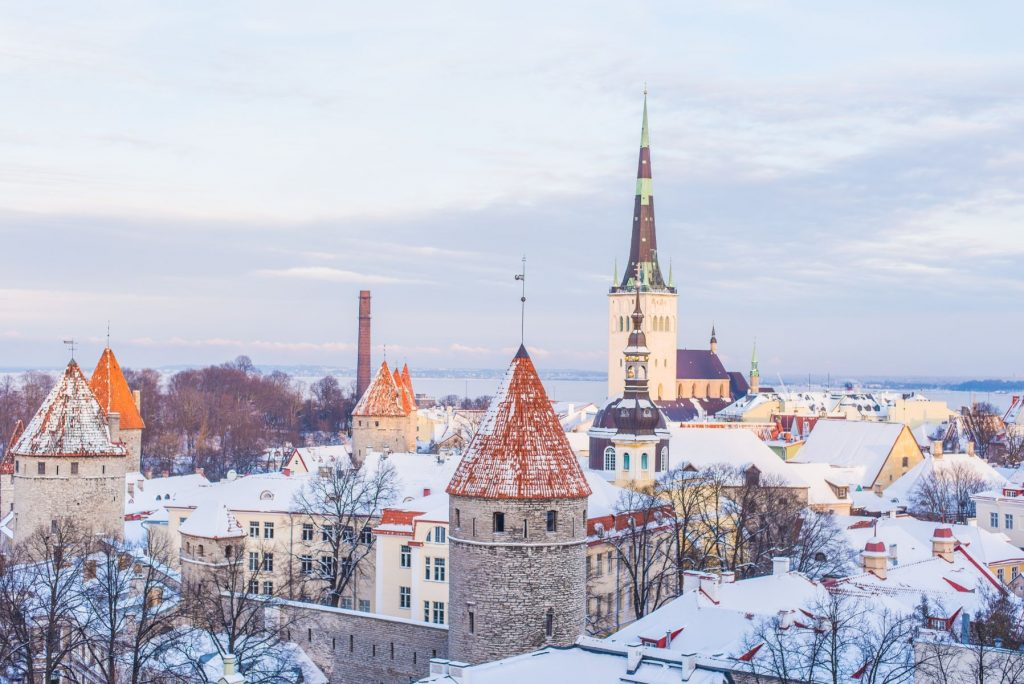 Old Town of Tallinn, Tallinn, Estonia