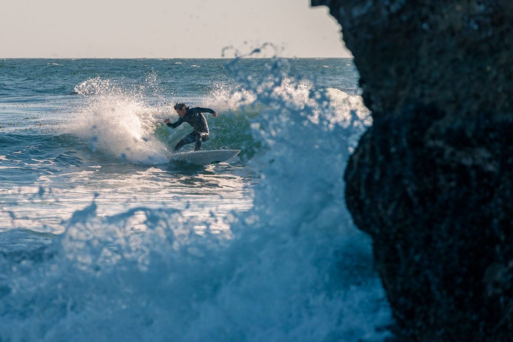 he surfing capital of the US, Santa Cruz, CA is never in shortage of talented surf athletes.