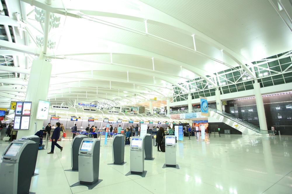 the hall of John F. Kennedy International Airport