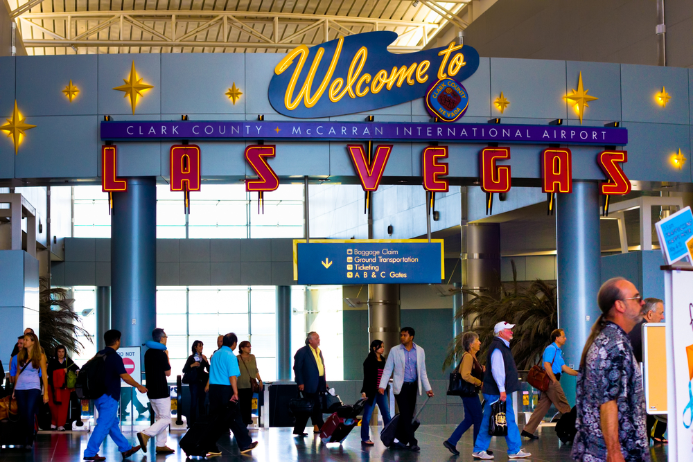 McCarran International Airport in Las Vegas NV