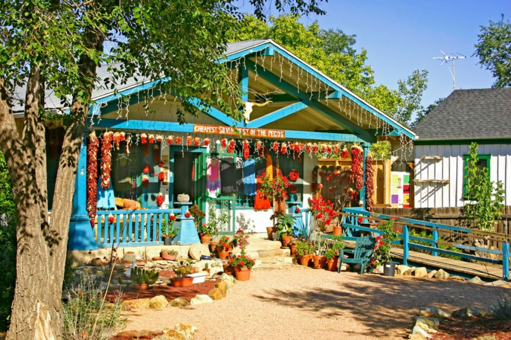 Quaint Roadside Shop in Madrid NM