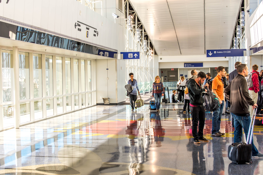 Dallas Fort Worth International Airport, Dallas, TX, USA