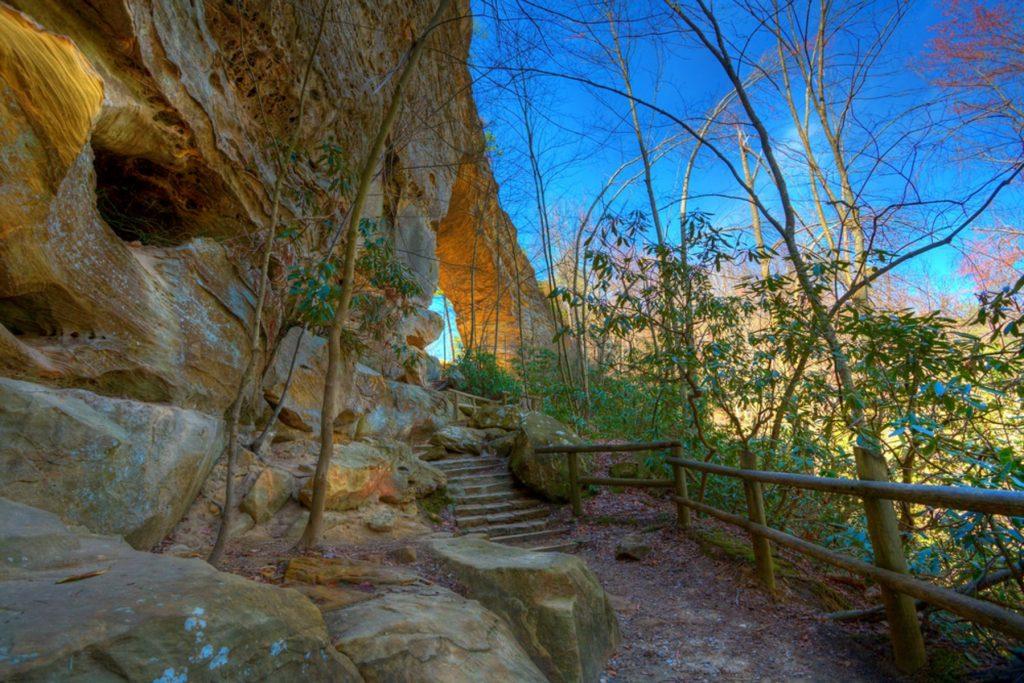 Natural Bridge State Park in Kentucky