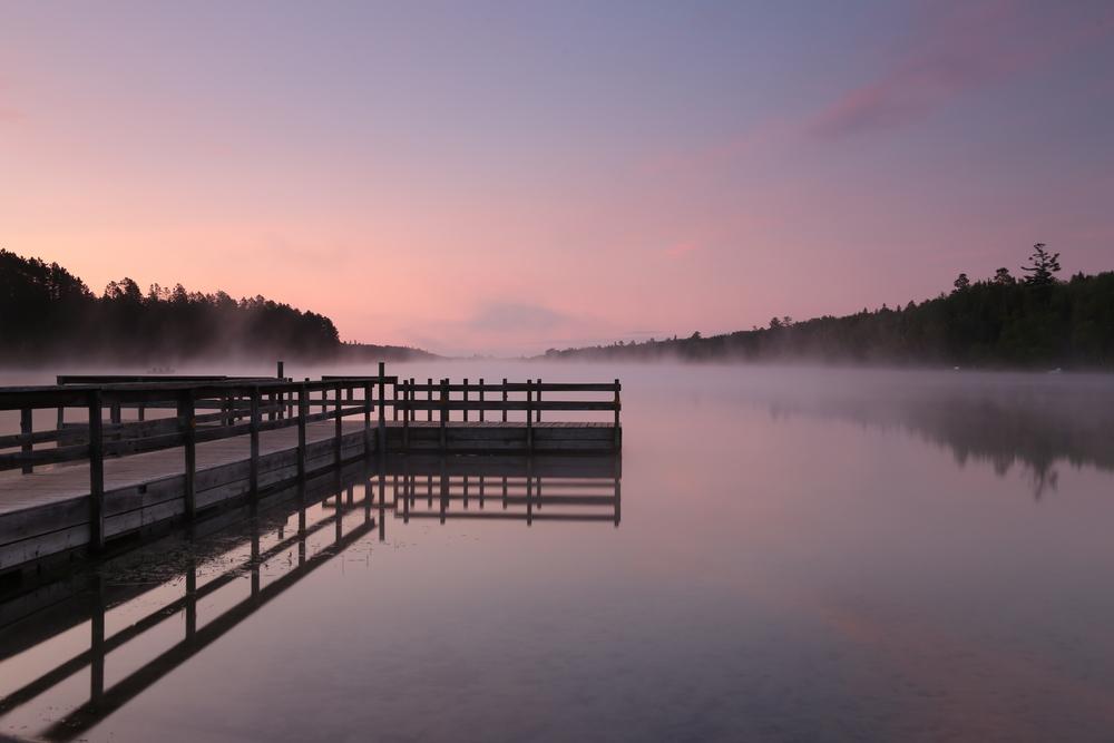 Dock in Itasca State Park