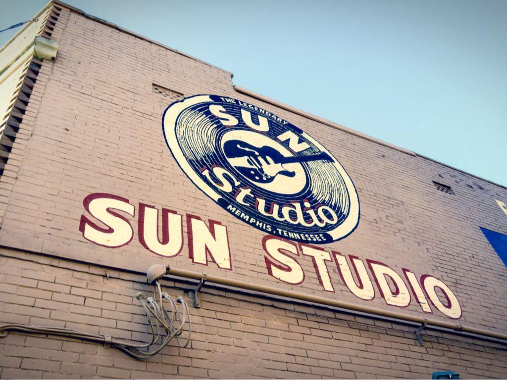 Sun Studio is the world-famous recording studio located in Memphis