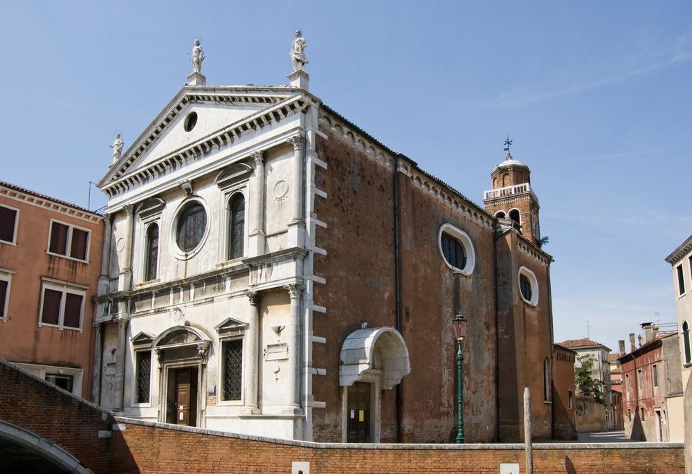 The historic church of San Sebastiano