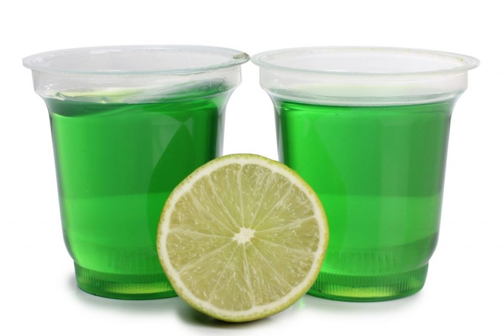 margarita Jell-O lime tequila