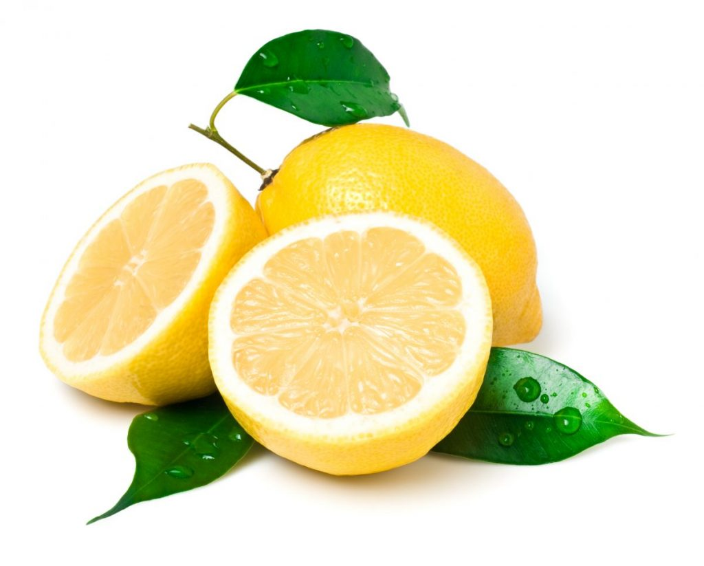 Lemons smell fresh and remove tarnish