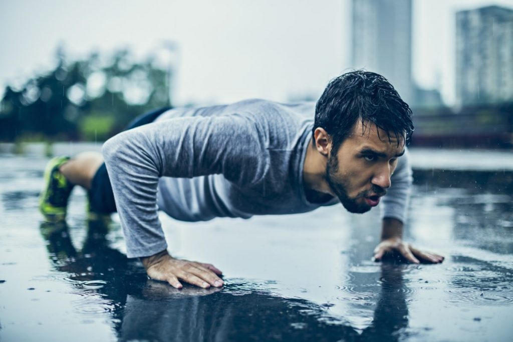 Push-ups Muscle Groups