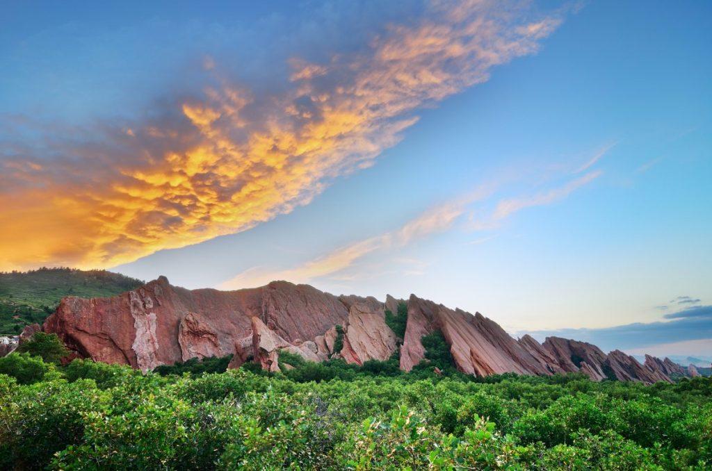 Roxborough Sunset Sky