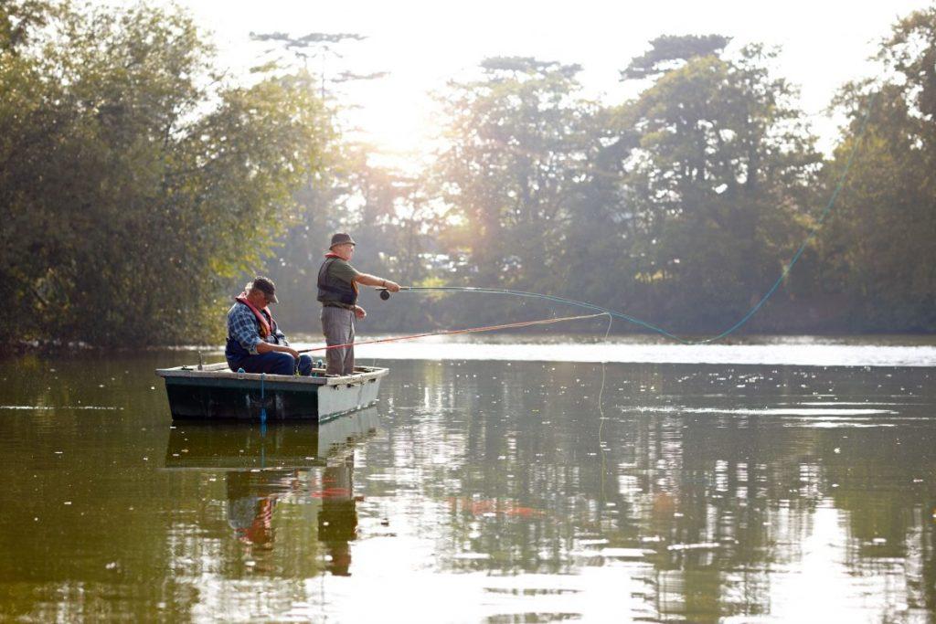 Fishing Lake Boat
