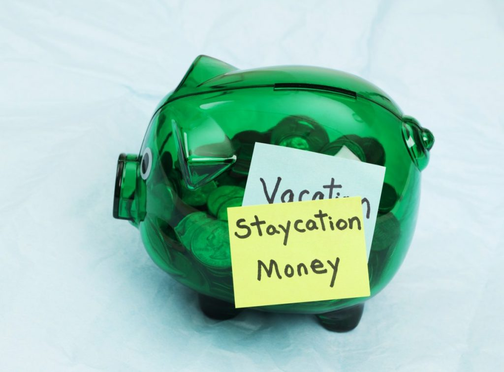 Staycation money
